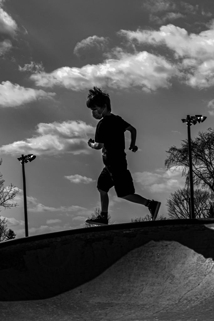 Running on the Edge by farmreporter