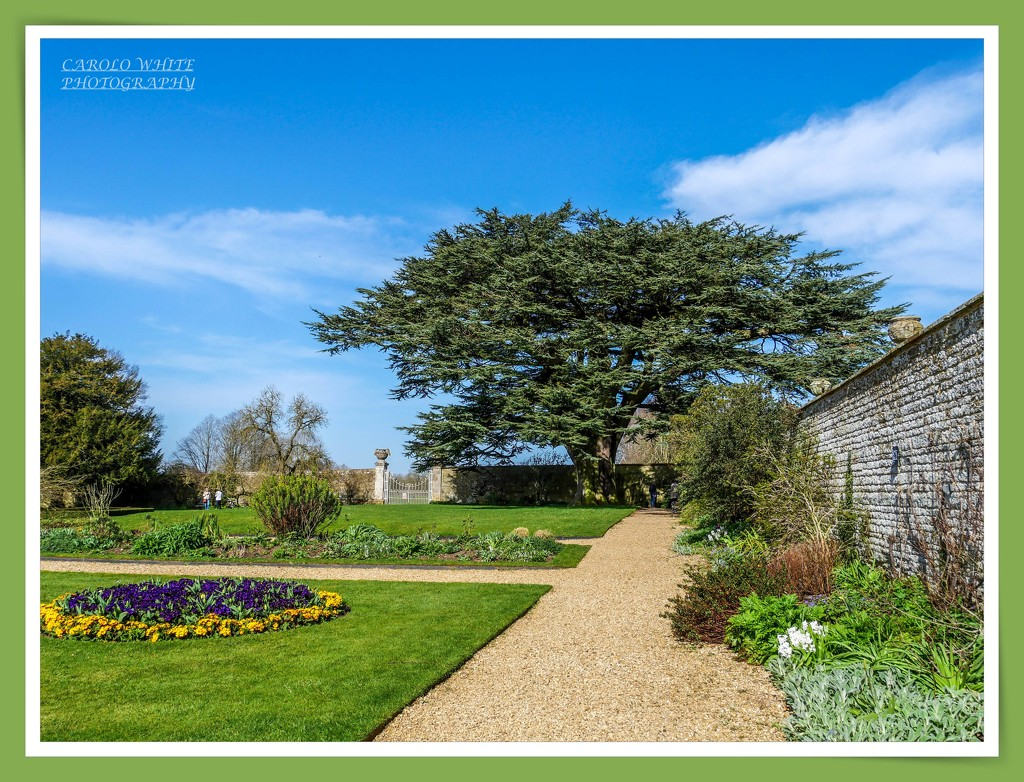 Garden View,Canons Ashby House by carolmw