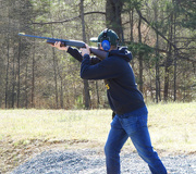 3rd Apr 2021 - Hunter hit 18/20 clays