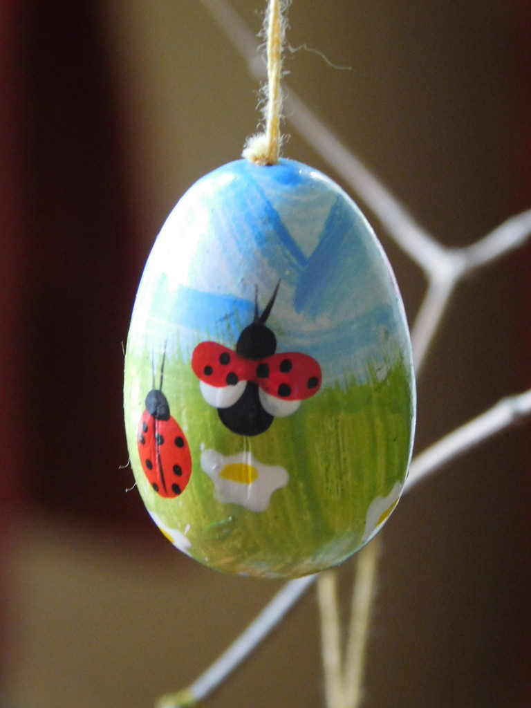 Ladybird egg from my Easter Branch by 365anne