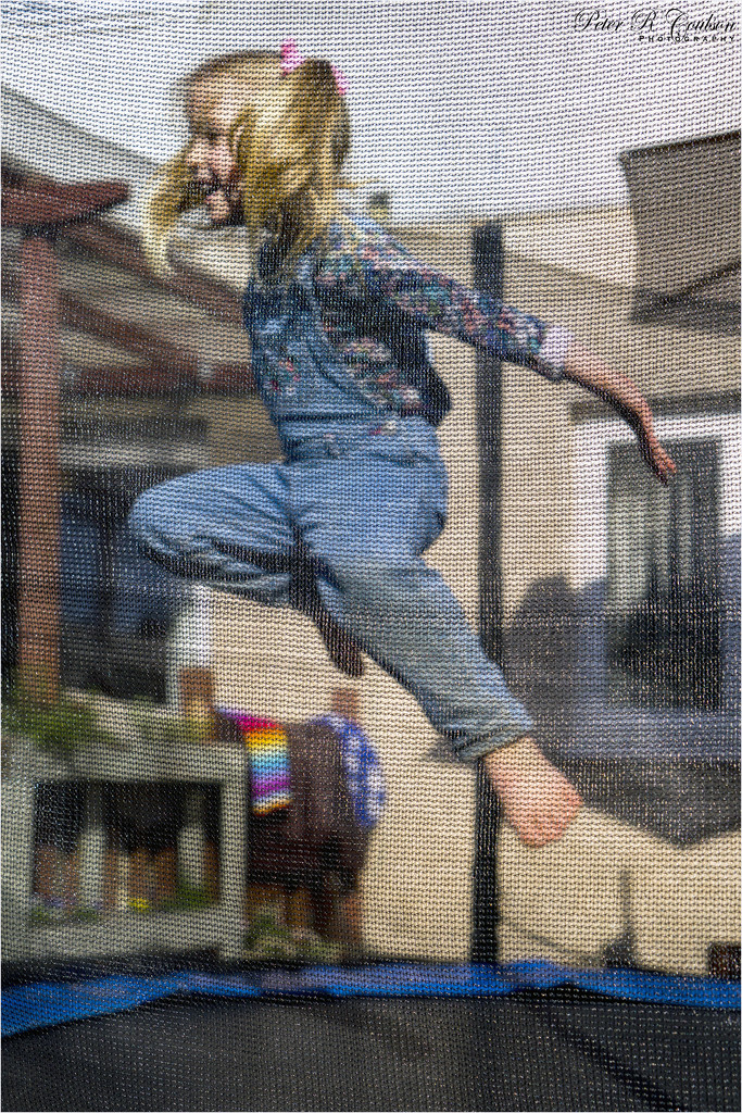 Trampoline Fun by pcoulson