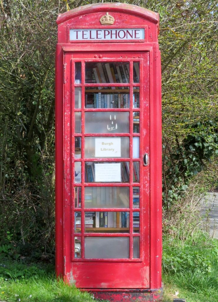 Phone box library by lellie