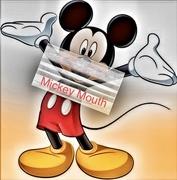 6th Apr 2021 - Tada: Mickey Mouth! Mickey #6