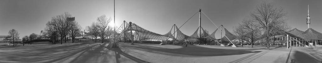 Olympiapark panorama by bpfoto