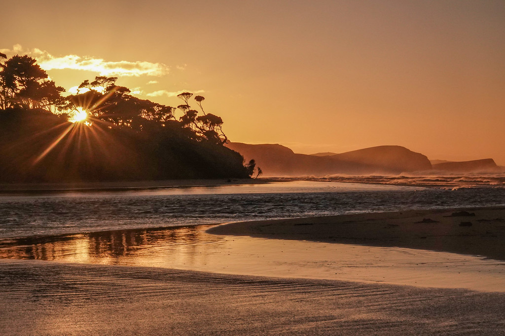 Sunrise, Papatowai Beach - the Catlins NZ by maureenpp