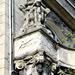 Neglected facade