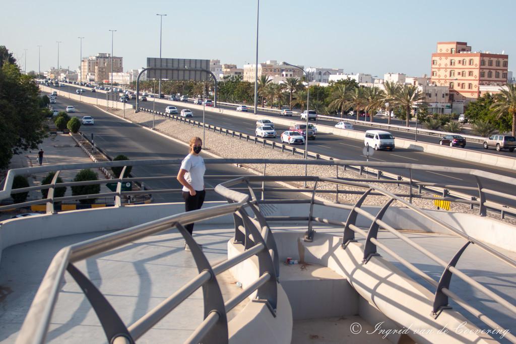Pedestrian bridge by ingrid01