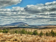 7th Apr 2021 - Tinto Hill from Dalquhandy Wind Farm