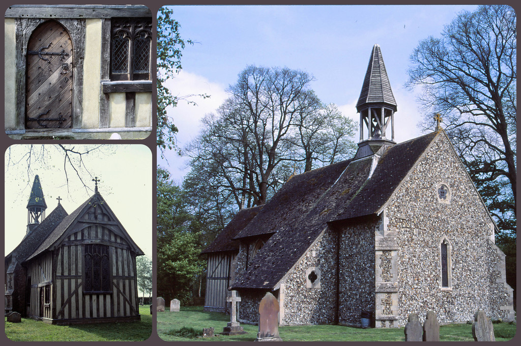 Crowfield Church by judithdeacon