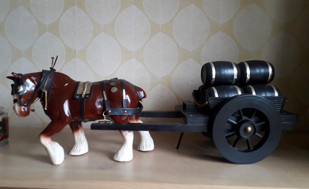 A dray horse by mave