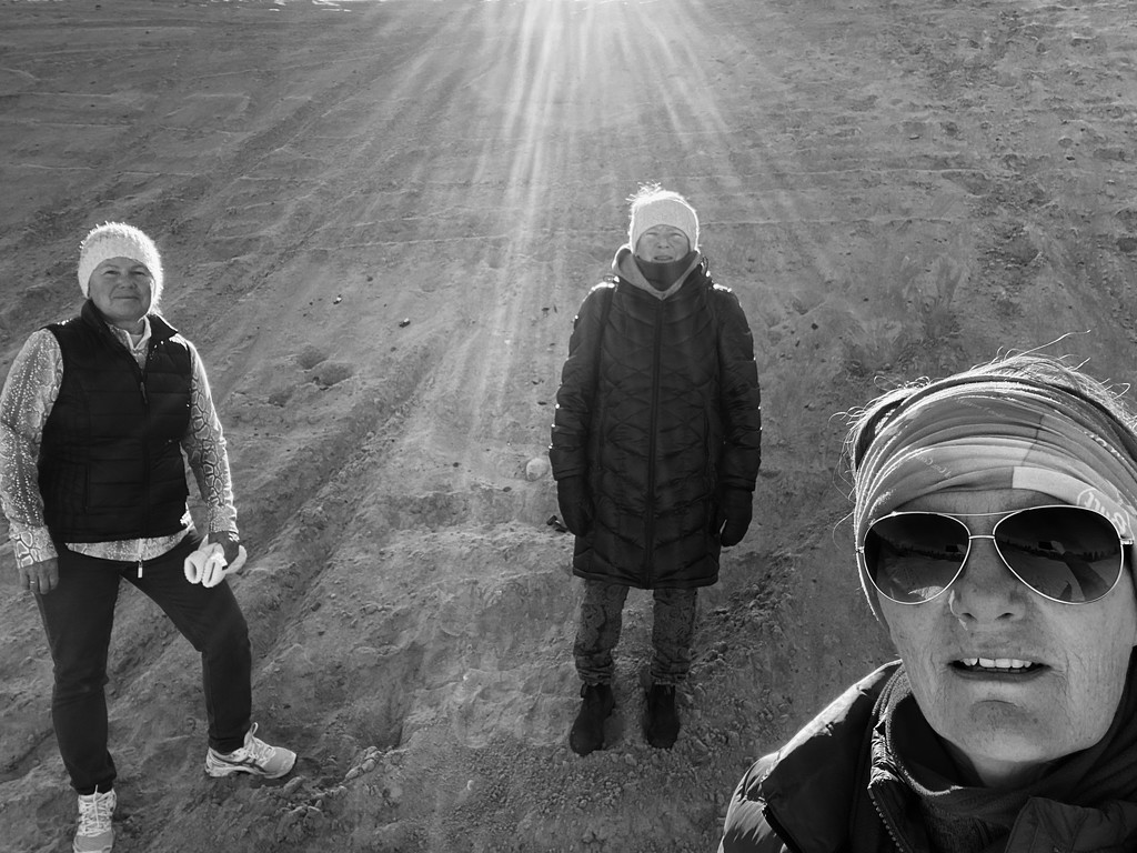 3 amigos out for a Walk by radiogirl