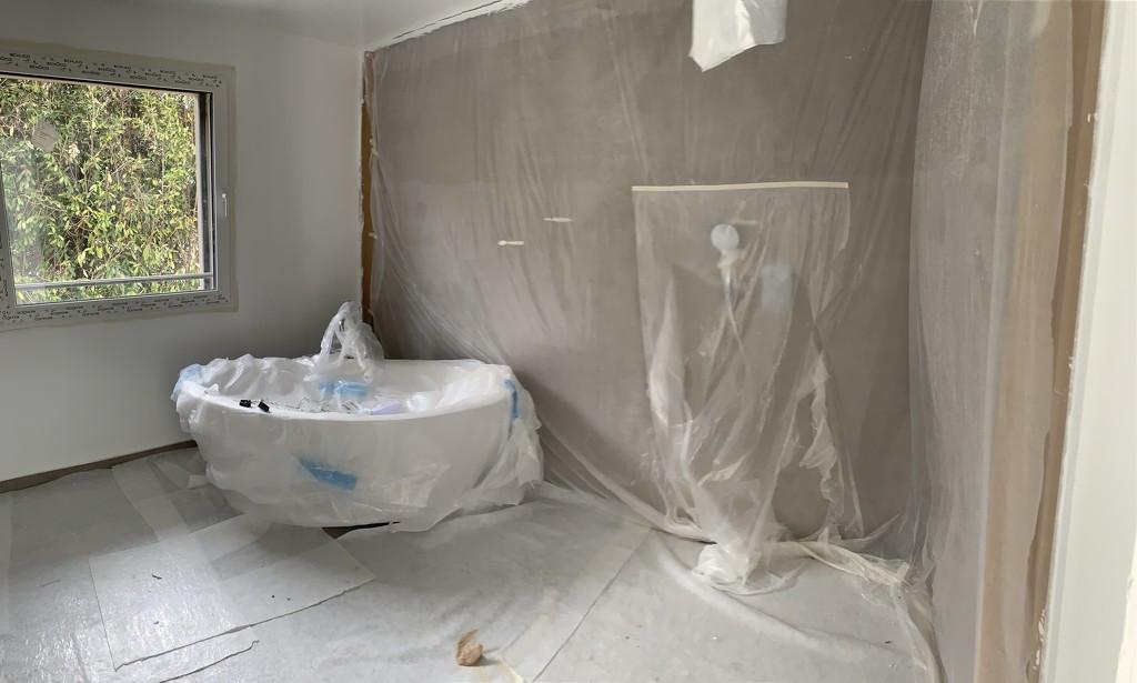Master bathroom.  by cocobella