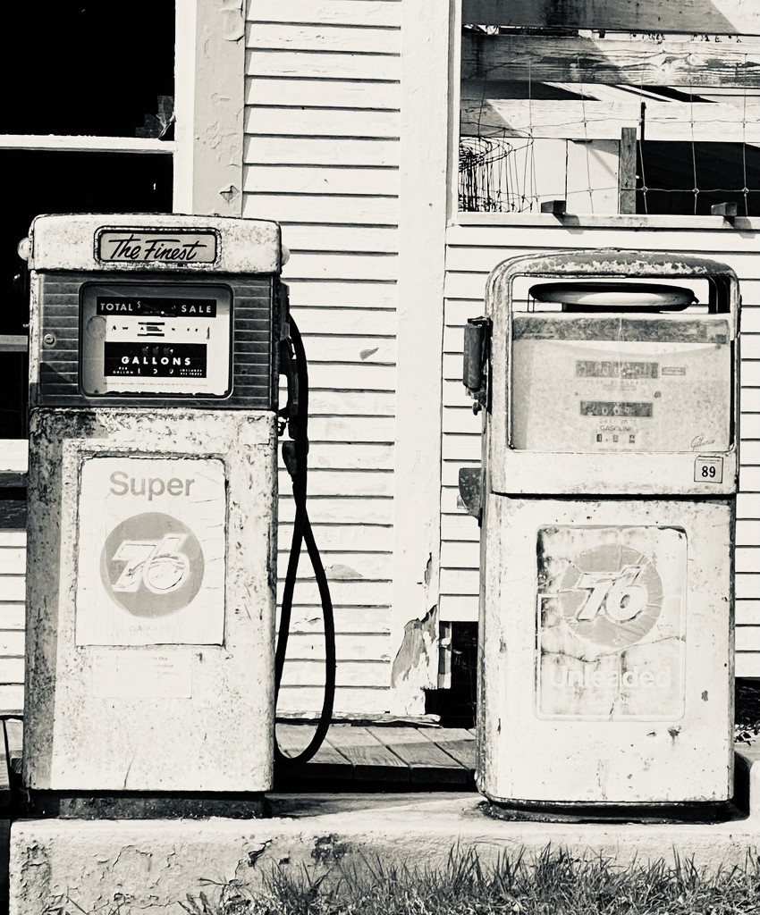 76 gas pumps by clay88