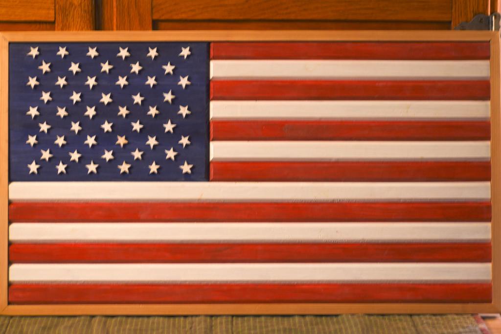 50-Star American Flag by bjywamer