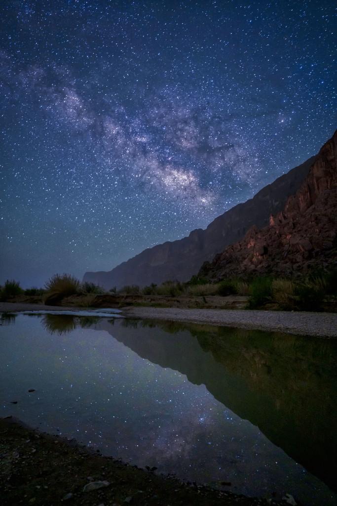 Stars Over the Rio Grande by kvphoto