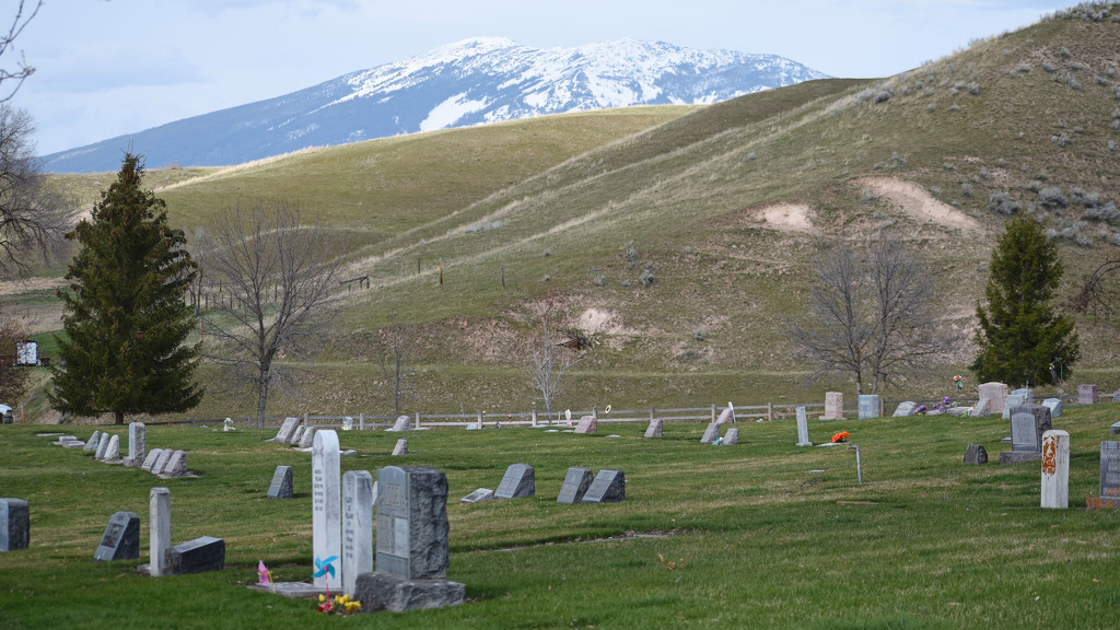 View Further Uphill From Plains Cemetery by bjywamer