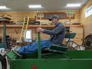 8th Apr 2021 - Brent on a Buckboard
