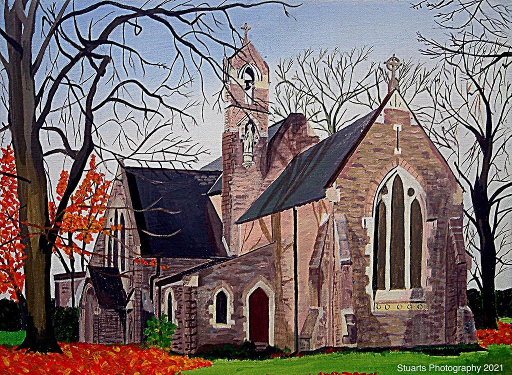 St. Stephens Church (painting) by stuart46