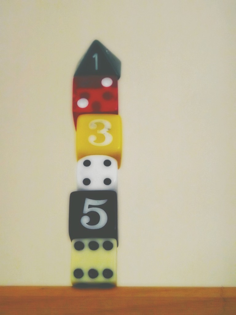 Dicing with dice by ajisaac