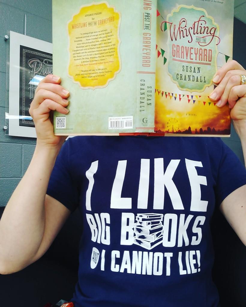 I Like Big Books and I Cannot Lie! by alophoto