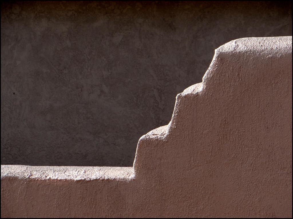 adobe wall by aikimomm