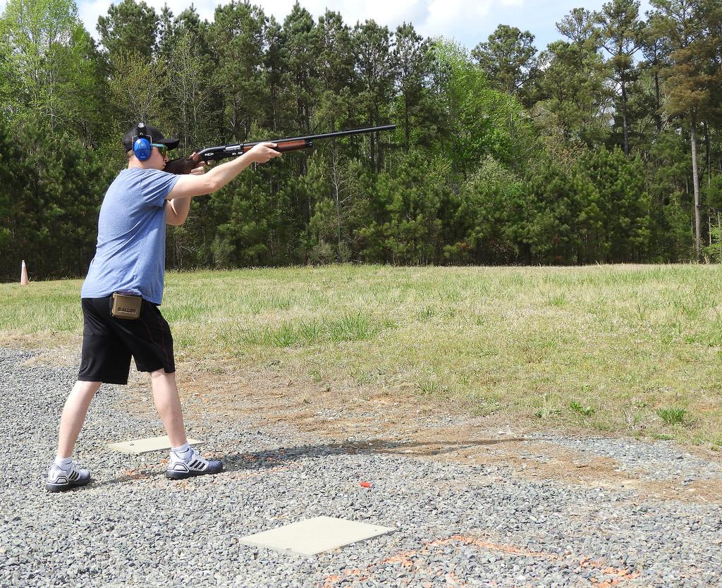 New Shotgun by homeschoolmom