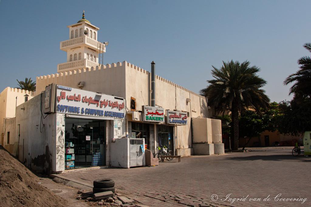 Abbas ibn Abd al-Muttalib Mosque, Seeb by ingrid01