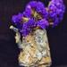 Rust and flowers  by katarzynamorawiec