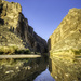 Reflections of Santa Elena Canyon