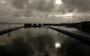11th Apr 2021 - Swimming pool on the beach..