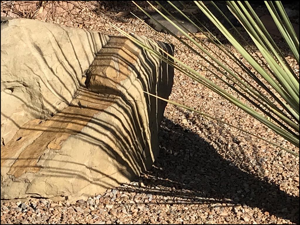 rock-climbing shadow by aikimomm
