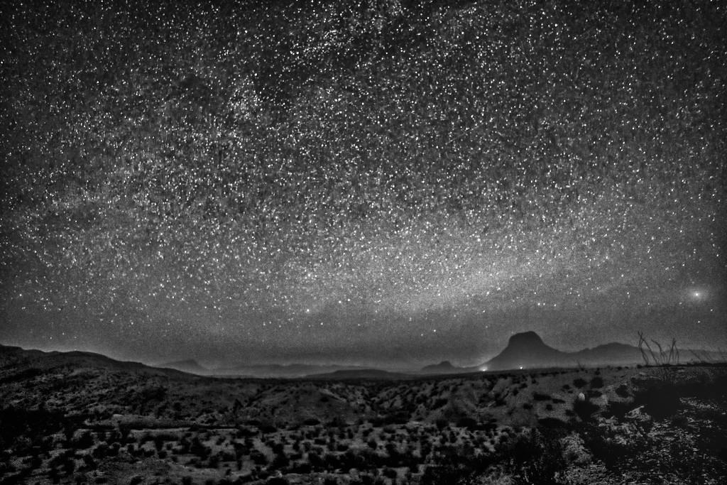 Big Bend NP Stars by kvphoto