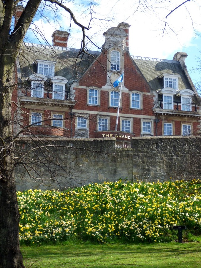 York City Walls in Spring by fishers