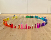 13th Apr 2021 - Rainbow bottles.