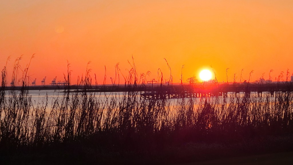 Sunset Over the Bay by photograndma