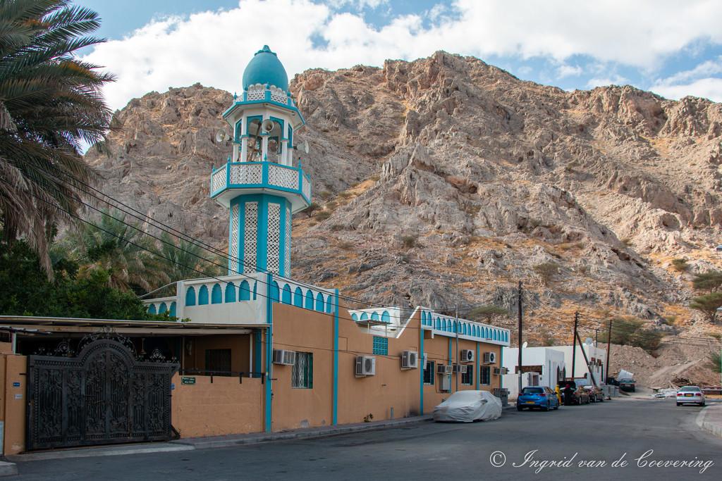 Mosque near Wadi Adai by ingrid01