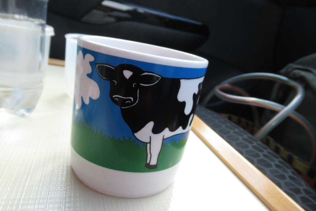cow mug by anniesue
