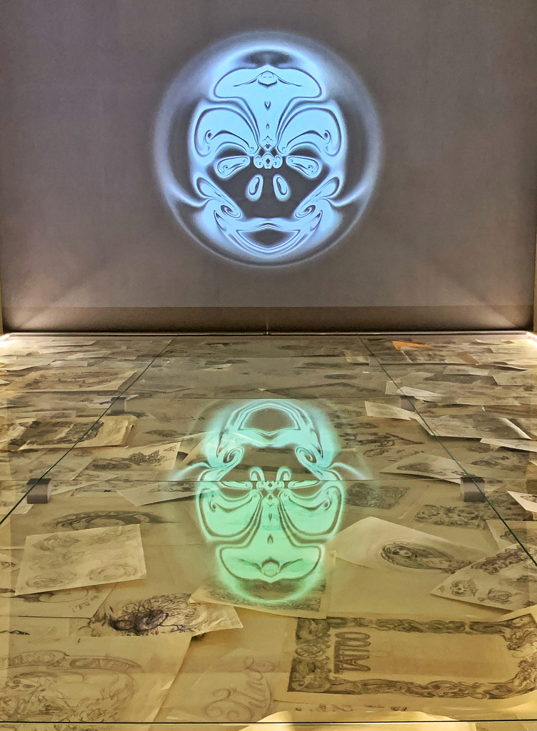 Neon reflection.  by cocobella