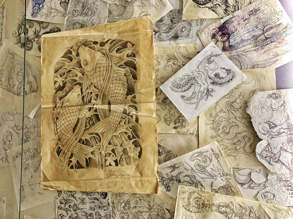 Leu drawings.  by cocobella