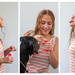 Blowing bubbles - Triptych