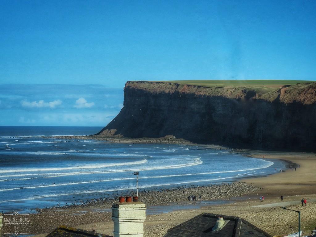 Saltburn and Hunt Cliff by craftymeg