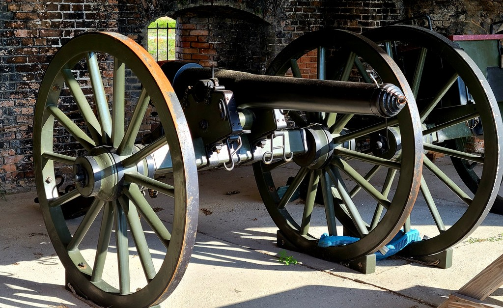 Civil War Cannon by photograndma