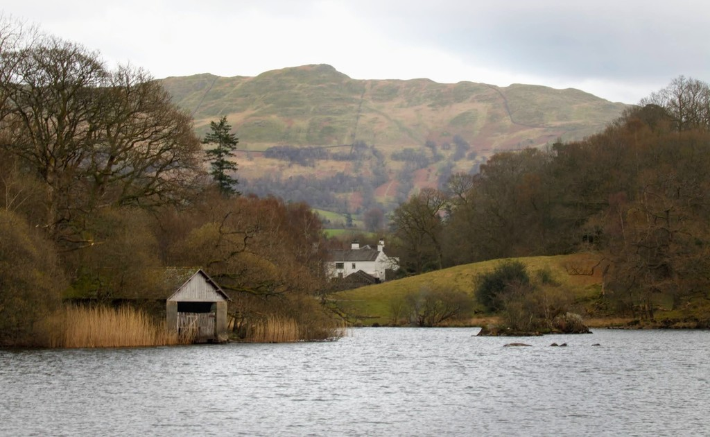 The boat house at Rydal Water by lyndamcg