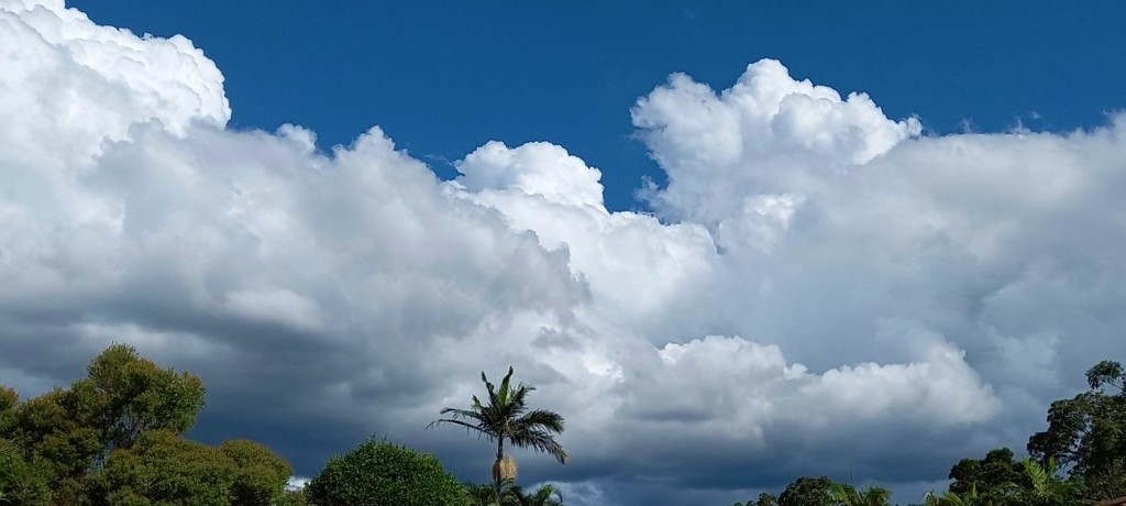 Clouds Banking In The Sky ~                                                                                                                                                               by happysnaps
