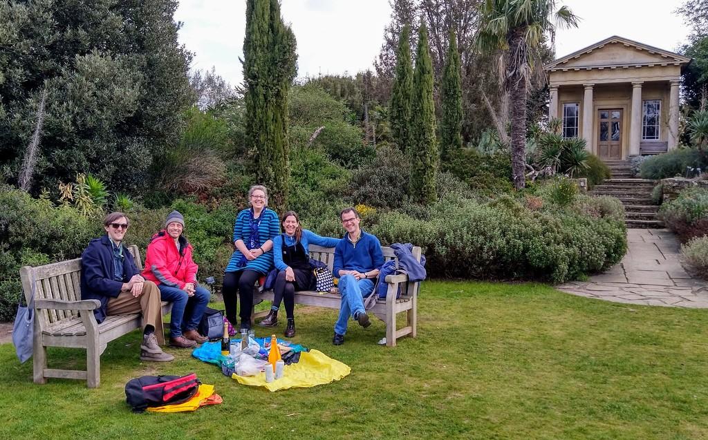 Picnic in the Mediterranean garden by boxplayer