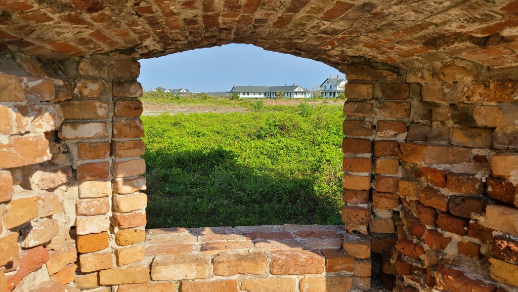 Through the Fort Window by photograndma