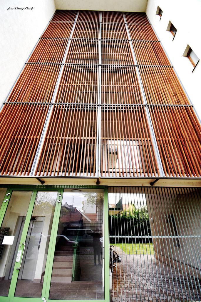Strange entrance facade by kork