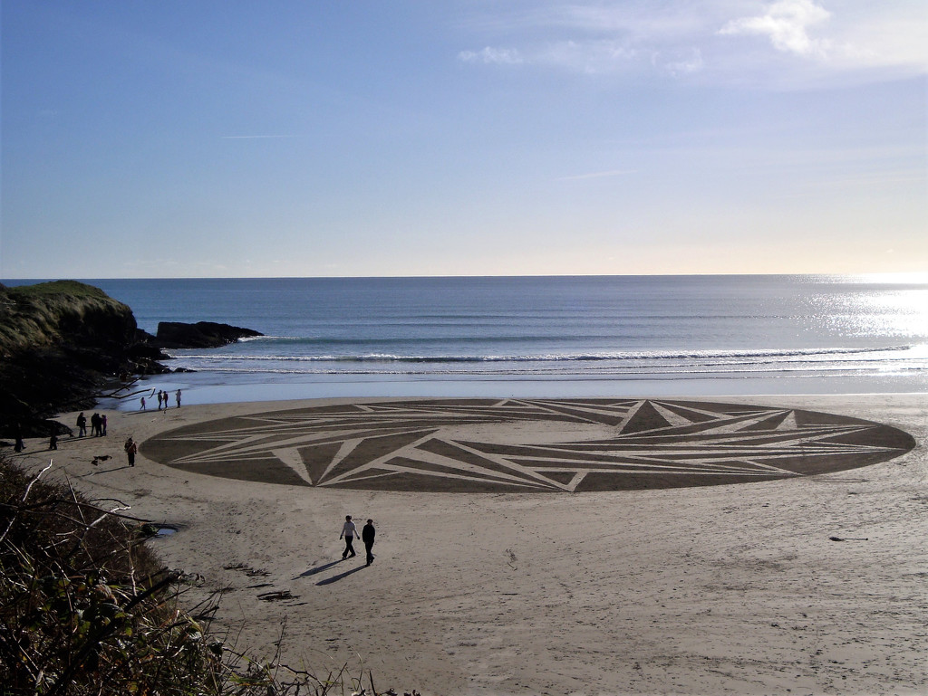 Sand Circle by etienne