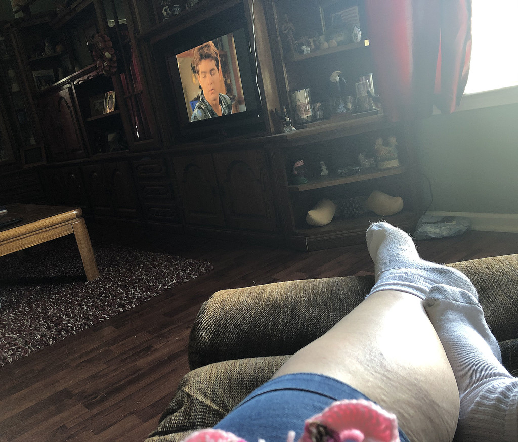 Bingeing and Chilling by homeschoolmom