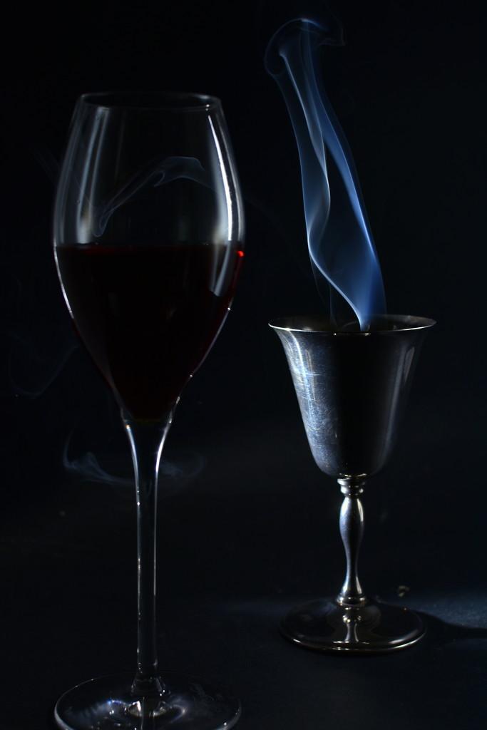 Smoke on the wine.... by jayberg